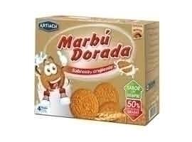 MARBU Galleta María Dorada, 800 + 200 grs GRATIS