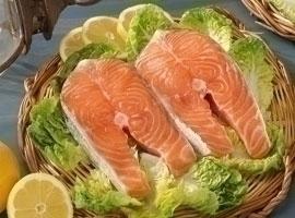 Salmón, al corte, kilo