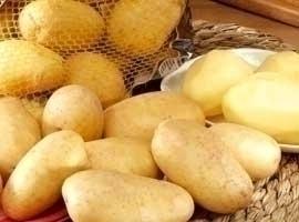 Patata lavada, bolsa de 2,5 Kg