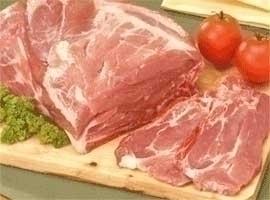 Chuleta de aguja de cerdo, 2 kilos