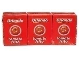 ORLANDO Tomate frito brick, pack 3x212 grs