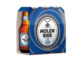 Cerveza sin en botella 2x25 MOLEN BIER