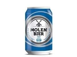 Cerveza sin en lata, 33 cl MOLEN BIER