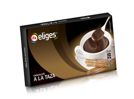 Chocolate a la taza, 300 grs ELIGES
