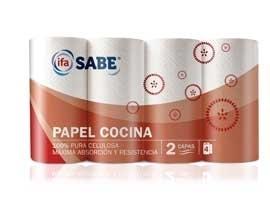 Papel cocina blanco(4) simple SABE