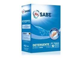 Detergente polvo mano, 15 lavados SABE