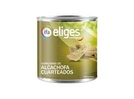 Alcachofa cuarteada, 390 grs ELIGES