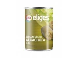 Alcachofa 6/8 lata, 390 grs ELIGES