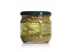 Guisantes muy finos frasco, 330 grs  ELIGES