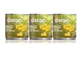 Maiz lata, 3x150 grs  ELIGES