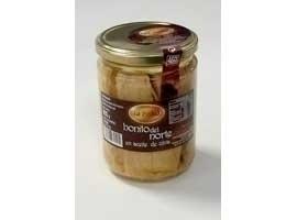 LA PIEDAD Lomos de bonito en aceite de oliva 400 grs (275 grs PE)