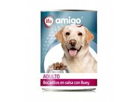 Comida de perros bocadito buey, 1.23 AMIGO