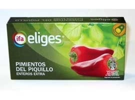 Pimiento piquillo fiesta, 185 grs  ELIGES