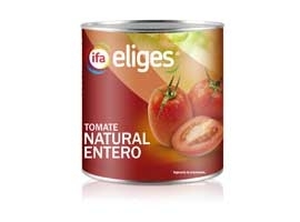 Tomate natural, 780 grs ELIGES
